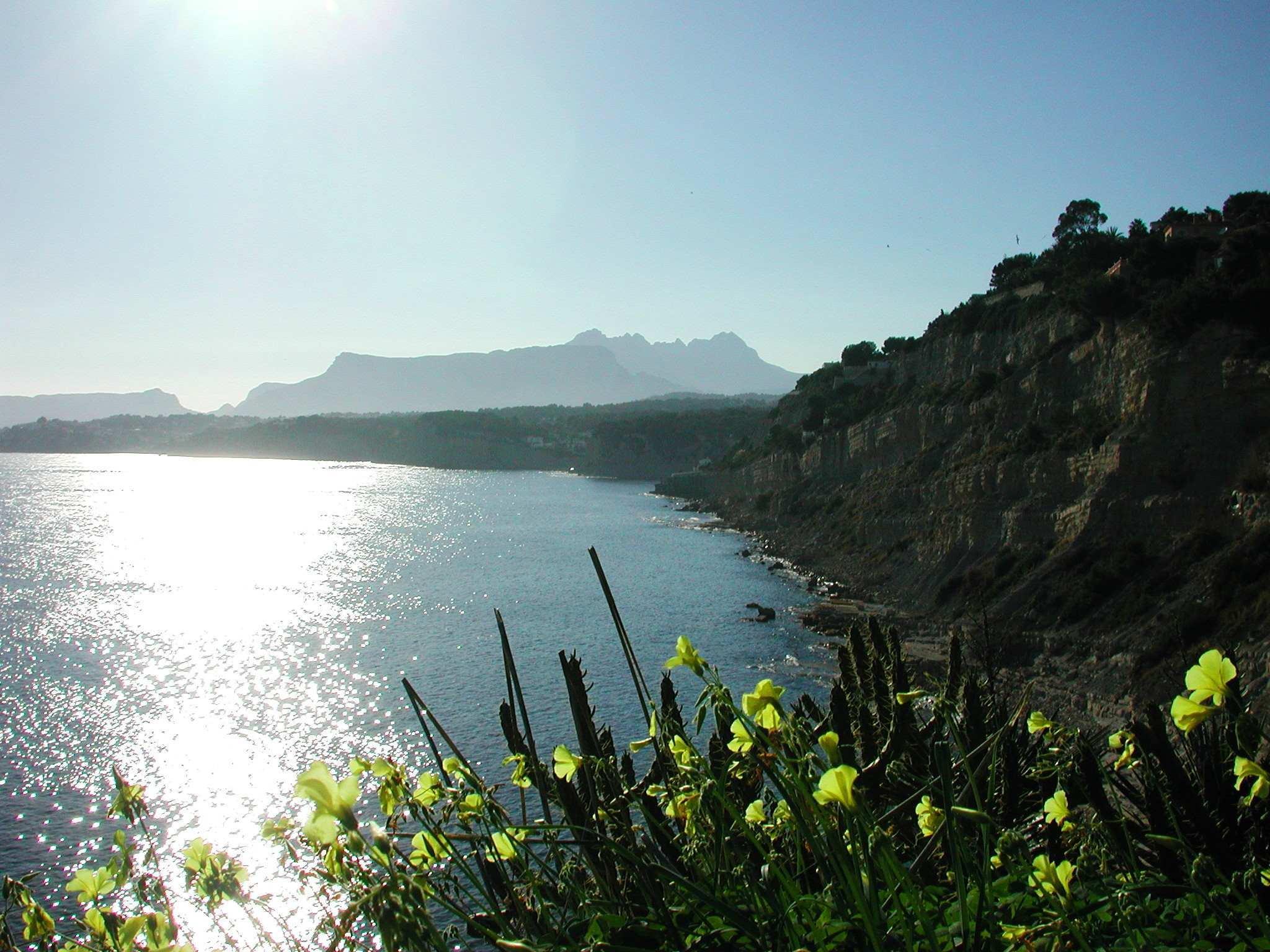 Playa Moraira - Costa Blanca Spanien