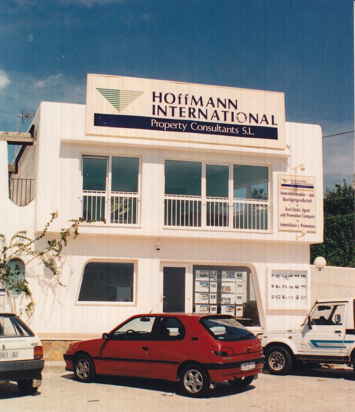 HI Büro Moraira Mitte der 90iger Jahre