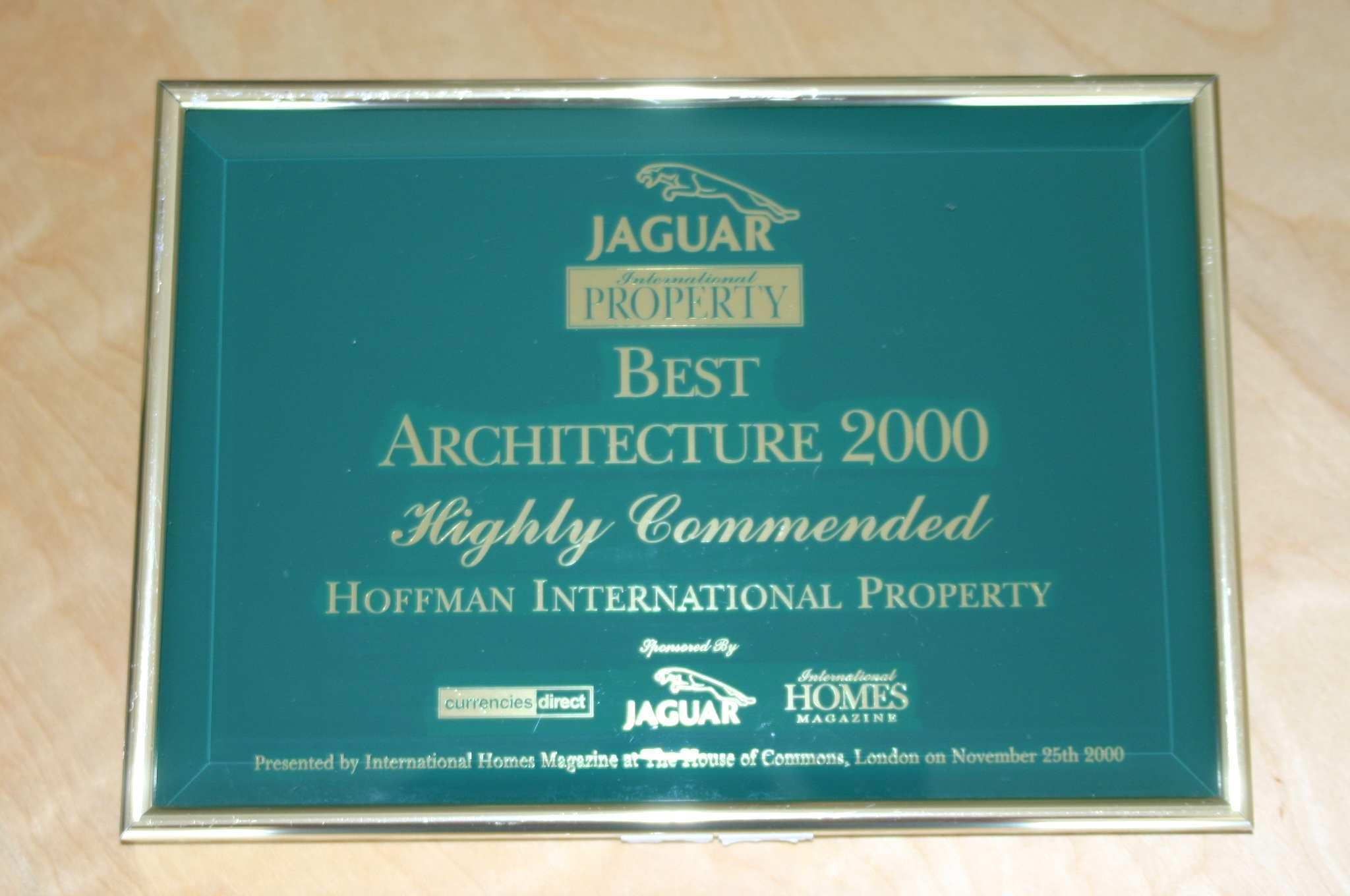 Architecture Award - 2000